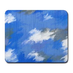 Abstract Clouds Large Mouse Pad (Rectangle)