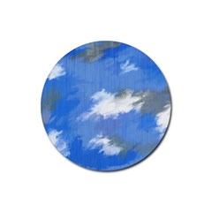 Abstract Clouds Drink Coaster (Round)