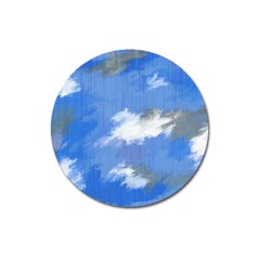 Abstract Clouds Magnet 3  (round)