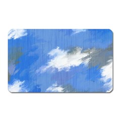 Abstract Clouds Magnet (Rectangular)