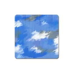 Abstract Clouds Magnet (Square)