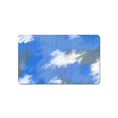 Abstract Clouds Magnet (Name Card)