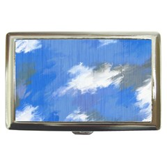 Abstract Clouds Cigarette Money Case