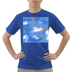 Abstract Clouds Men s T-shirt (Colored)