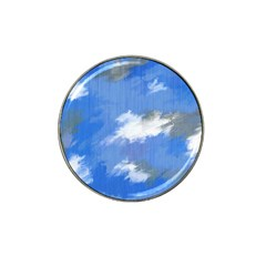 Abstract Clouds Golf Ball Marker 4 Pack (for Hat Clip)