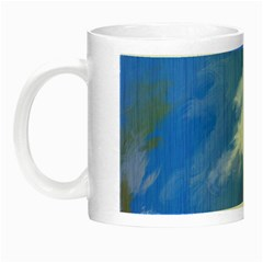 Abstract Clouds Glow in the Dark Mug