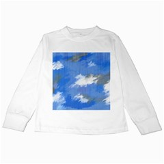 Abstract Clouds Kids Long Sleeve T-Shirt