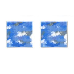 Abstract Clouds Cufflinks (Square)
