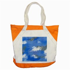 Abstract Clouds Accent Tote Bag