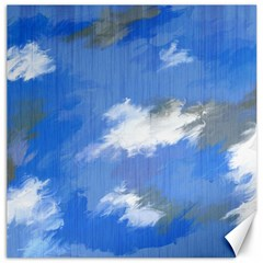 Abstract Clouds Canvas 12  x 12  (Unframed)