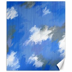 Abstract Clouds Canvas 20  x 24  (Unframed)
