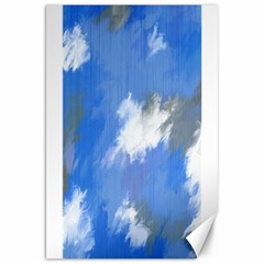 Abstract Clouds Canvas 20  X 30  (unframed)