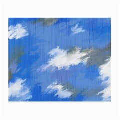 Abstract Clouds Glasses Cloth (Small, Two Sided)