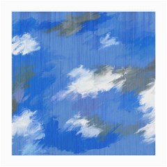 Abstract Clouds Glasses Cloth (Medium, Two Sided)