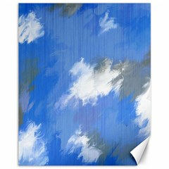 Abstract Clouds Canvas 11  x 14  (Unframed)