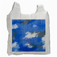 Abstract Clouds Recycle Bag (One Side)
