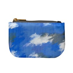 Abstract Clouds Coin Change Purse
