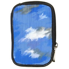 Abstract Clouds Compact Camera Leather Case