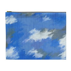 Abstract Clouds Cosmetic Bag (XL)