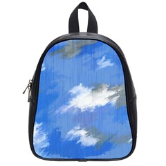 Abstract Clouds School Bag (Small)