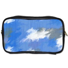 Abstract Clouds Travel Toiletry Bag (two Sides)