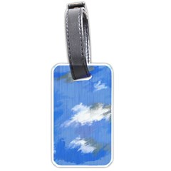 Abstract Clouds Luggage Tag (One Side)