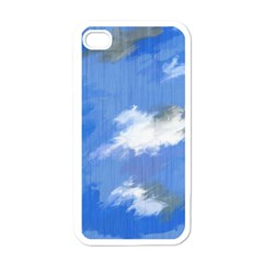 Abstract Clouds Apple Iphone 4 Case (white)