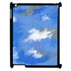 Abstract Clouds Apple Ipad 2 Case (black)