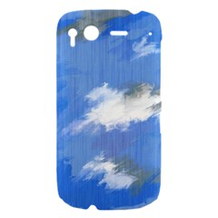 Abstract Clouds HTC Desire S Hardshell Case