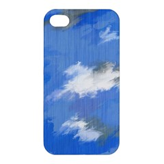 Abstract Clouds Apple iPhone 4/4S Premium Hardshell Case