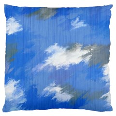 Abstract Clouds Large Cushion Case (Single Sided)