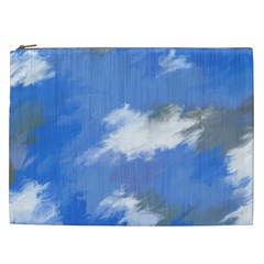 Abstract Clouds Cosmetic Bag (XXL)