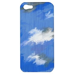 Abstract Clouds Apple Iphone 5 Hardshell Case