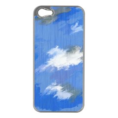 Abstract Clouds Apple Iphone 5 Case (silver)