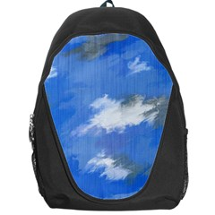 Abstract Clouds Backpack Bag
