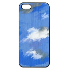 Abstract Clouds Apple Iphone 5 Seamless Case (black)
