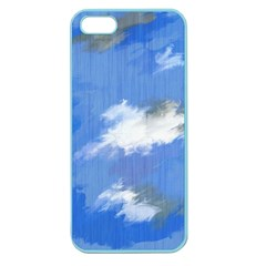 Abstract Clouds Apple Seamless Iphone 5 Case (color)
