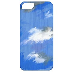 Abstract Clouds Apple iPhone 5 Classic Hardshell Case