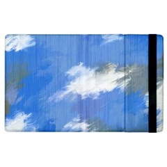 Abstract Clouds Apple iPad 2 Flip Case