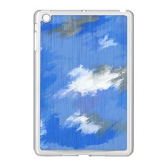 Abstract Clouds Apple iPad Mini Case (White)