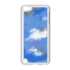 Abstract Clouds Apple iPod Touch 5 Case (White)