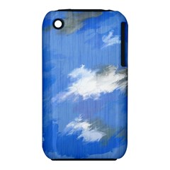 Abstract Clouds Apple iPhone 3G/3GS Hardshell Case (PC+Silicone)
