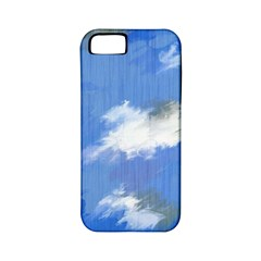 Abstract Clouds Apple Iphone 5 Classic Hardshell Case (pc+silicone)