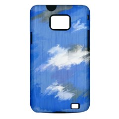 Abstract Clouds Samsung Galaxy S II i9100 Hardshell Case (PC+Silicone)