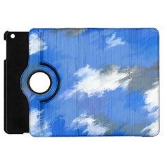 Abstract Clouds Apple Ipad Mini Flip 360 Case
