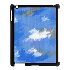 Abstract Clouds Apple iPad 3/4 Case (Black)