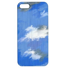 Abstract Clouds Apple iPhone 5 Hardshell Case with Stand