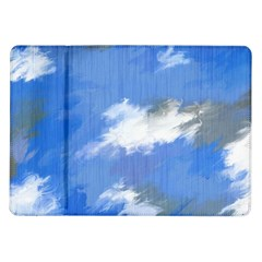 Abstract Clouds Samsung Galaxy Tab 10.1  P7500 Flip Case