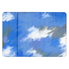 Abstract Clouds Samsung Galaxy Tab 8.9  P7300 Flip Case