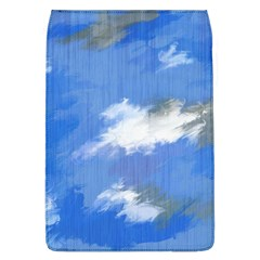 Abstract Clouds Removable Flap Cover (large)